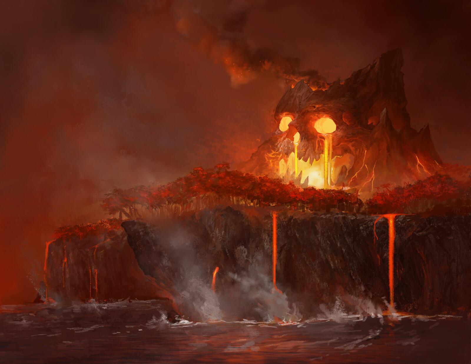 Skullcano