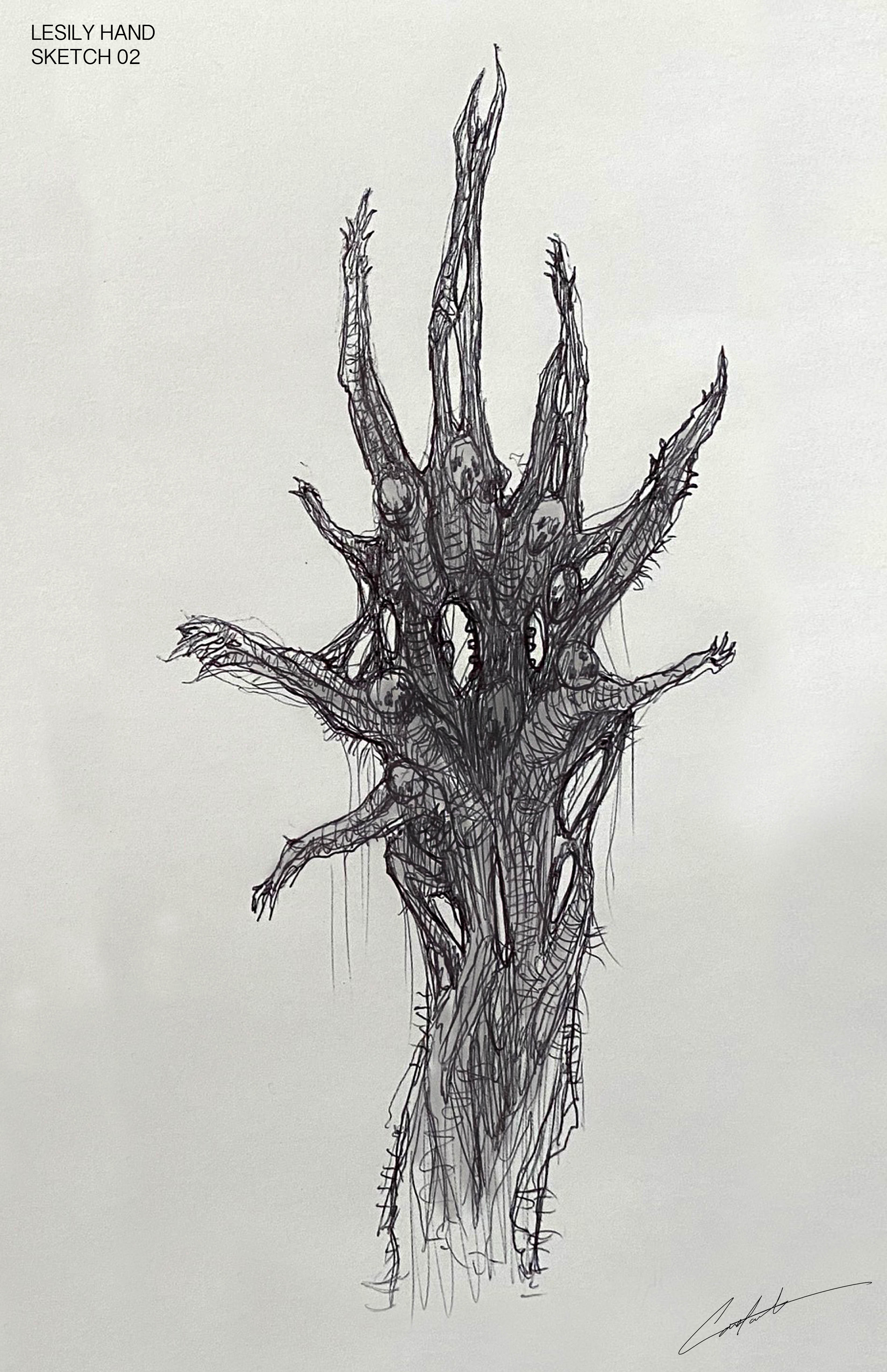 Lisey's Story creature design