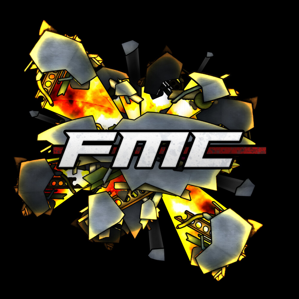 FMC T-shirt Design. Hand-drawn and colorized debris.