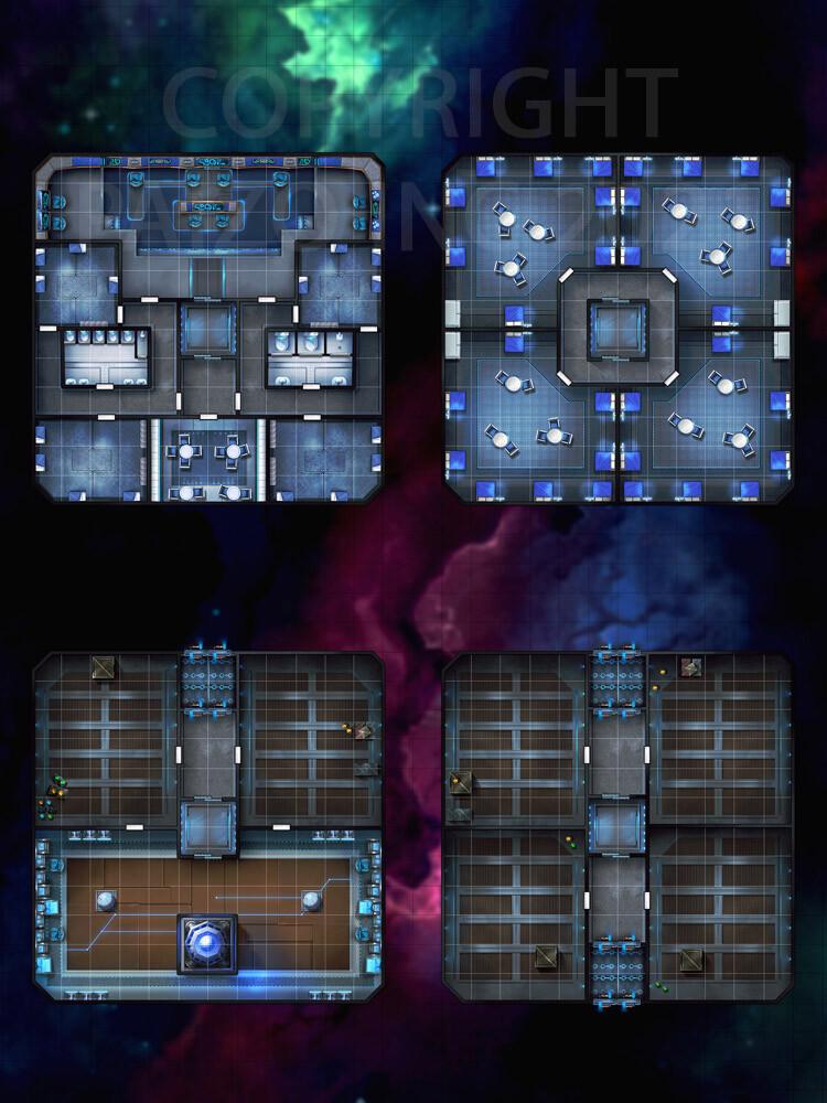 Compent Star Settler Interior Map