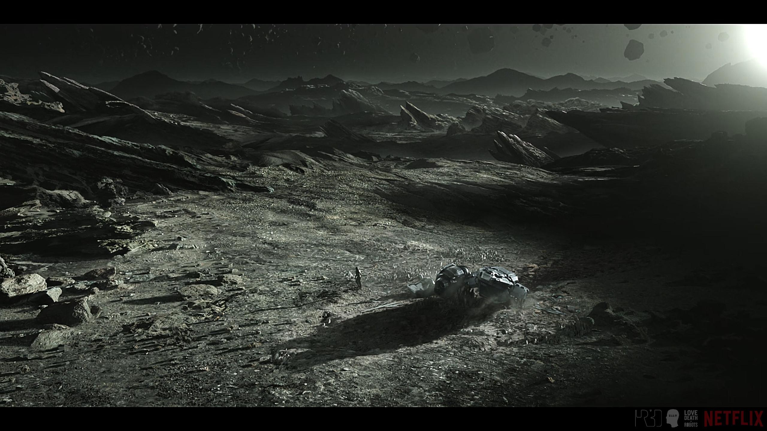 Planet surface + sky DMP