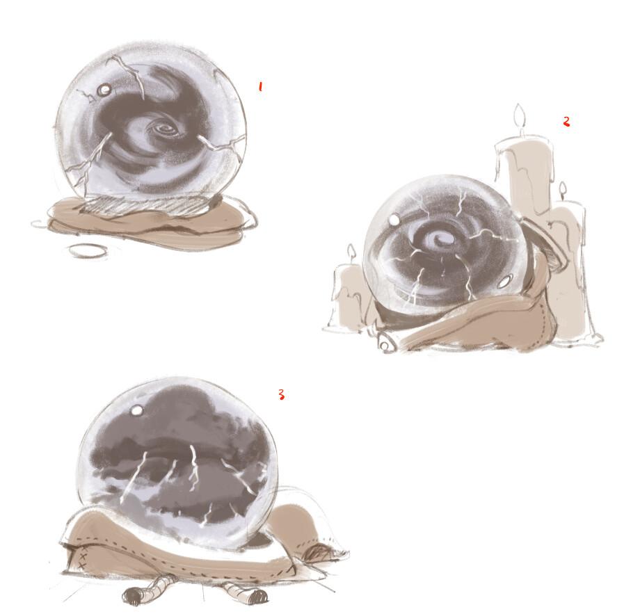 quick explo sketches