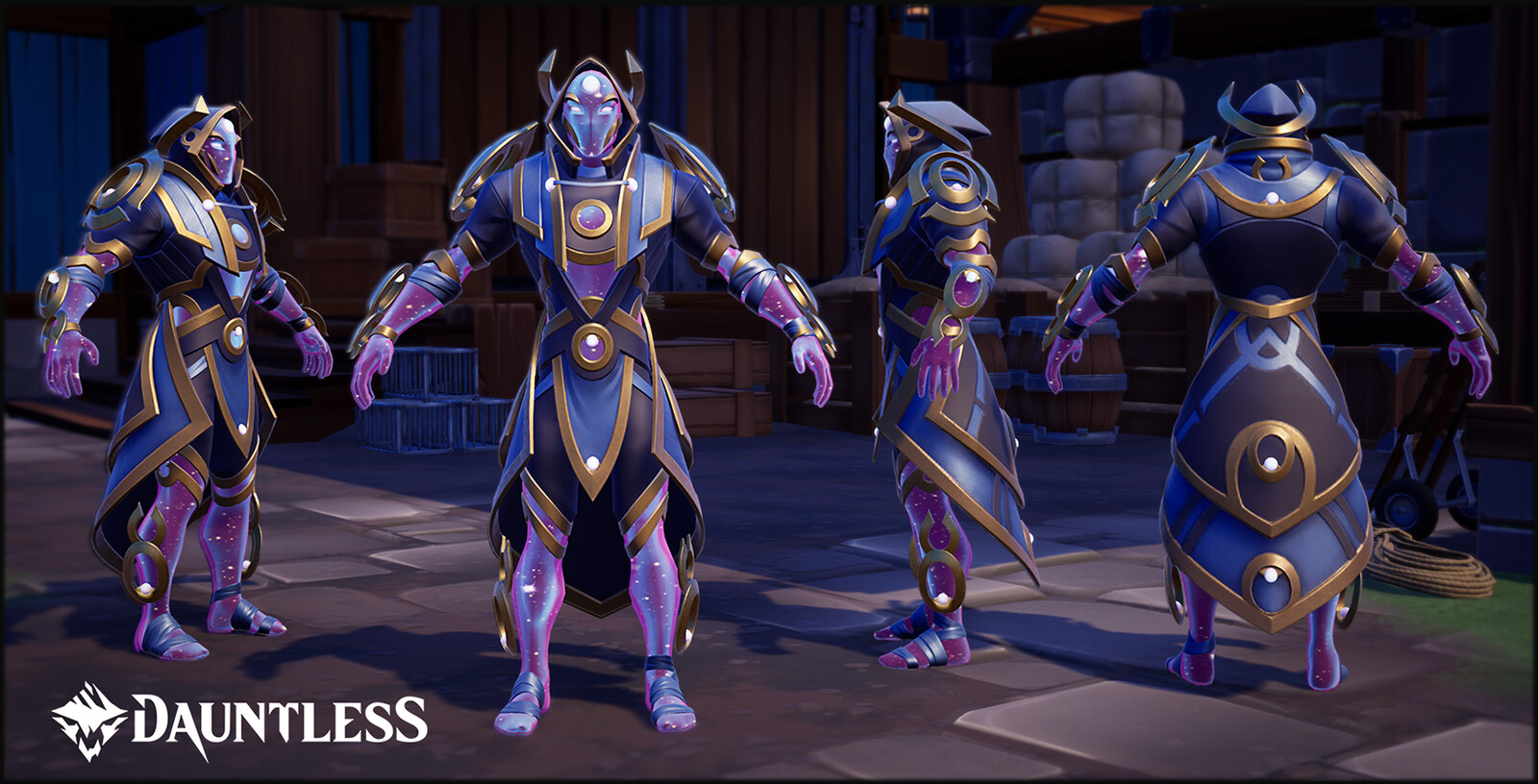 Void Mind Ultra Armor Set, LVL 50 Hunt Pass reward for the season of Relics and Ruins. 'Celestial' skin shader provided by Phoenix Labs.