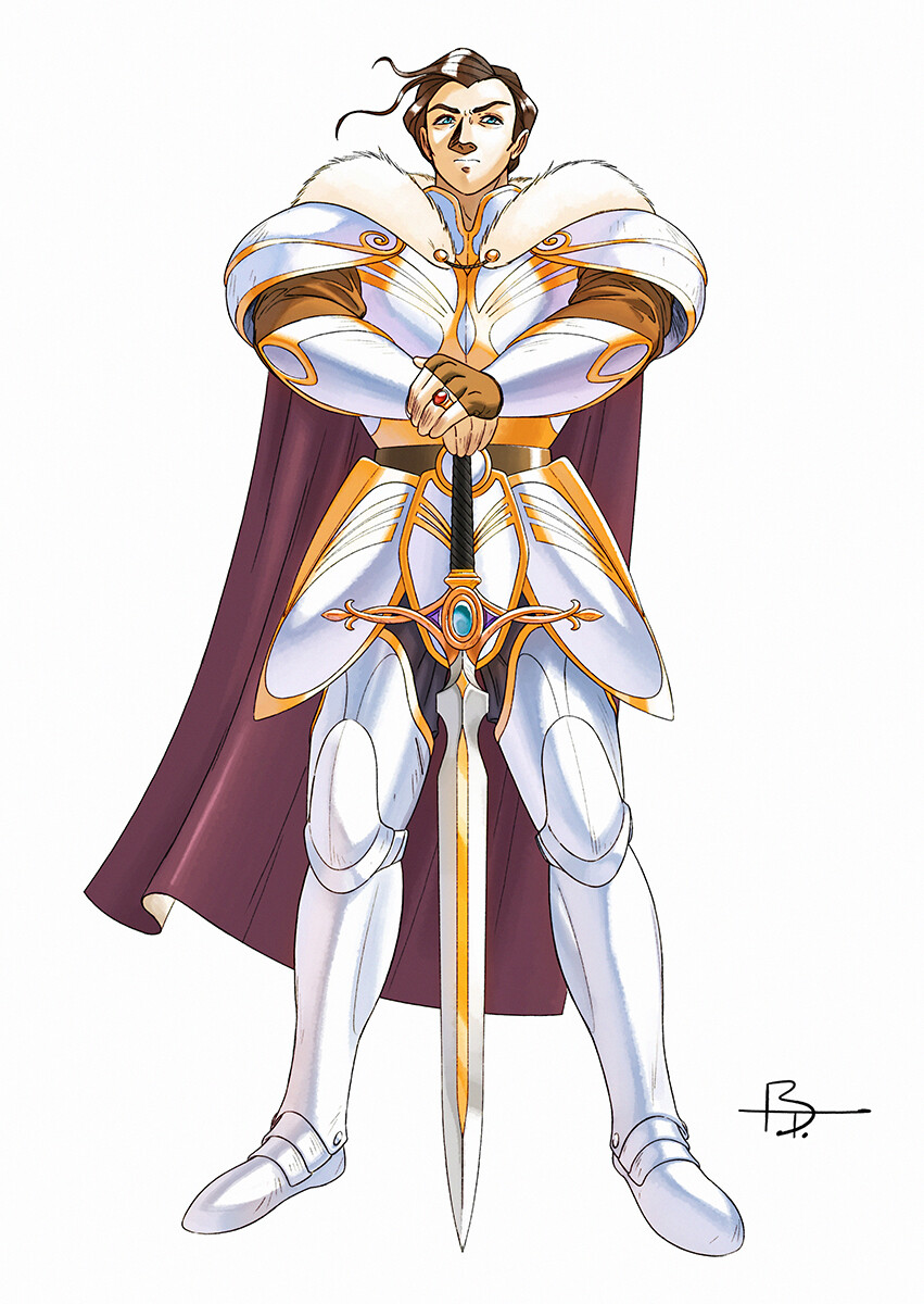 Alutha is one of the three legendary heroes who fought against the Unnamed. He is in love with Selera, another legendary hero. Together with Gilus, they destroyed the Unnamed a long time ago...