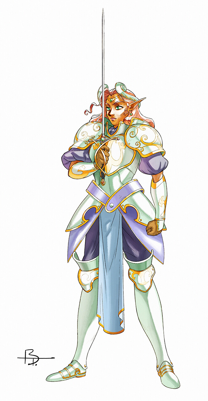 Along with Alutha and Gilus, Selera is one of the three legendary heroes who fought the Unnamed a long time ago. Alutha and her were deeply in love.