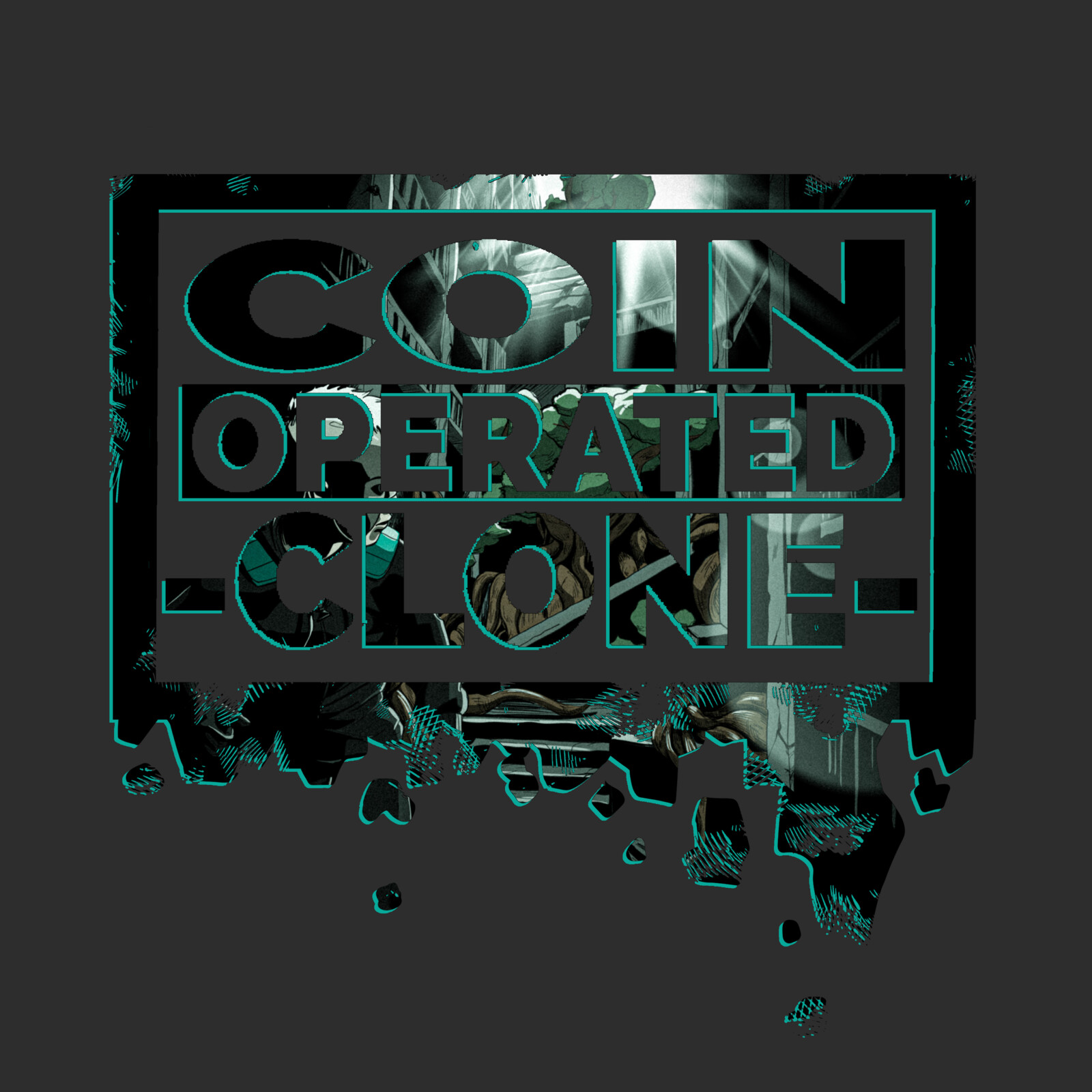 Coin Operated Clone Logo