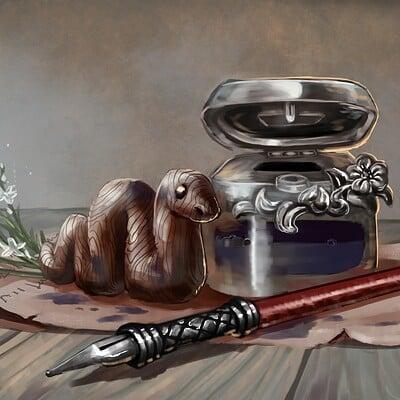Magical kaleidoscope alastor writing supplies