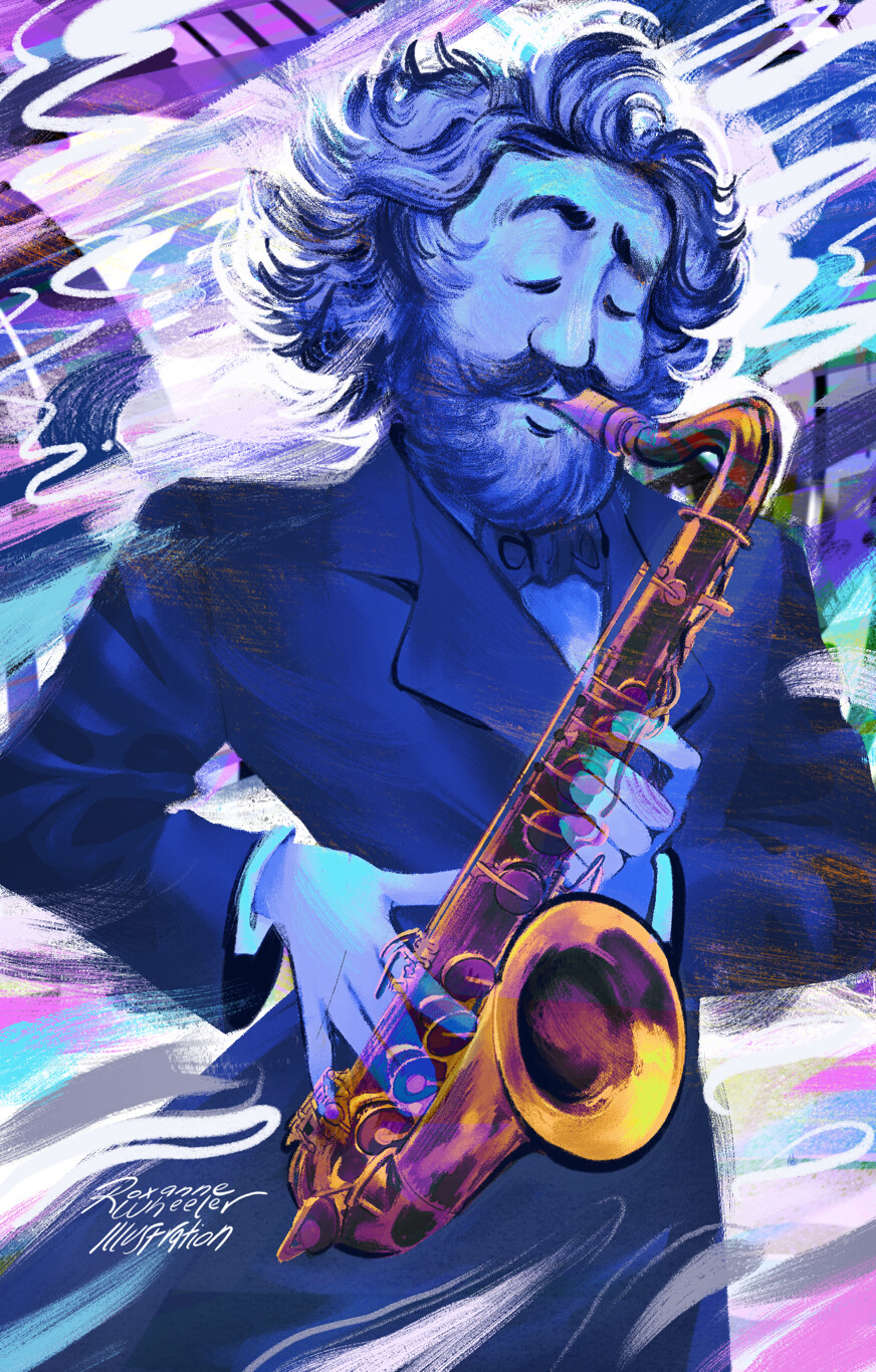 Adolphe Sax for Muse Magazine