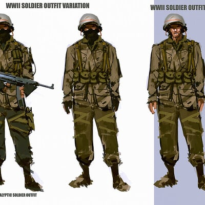 Benedick bana wwii outfit lores