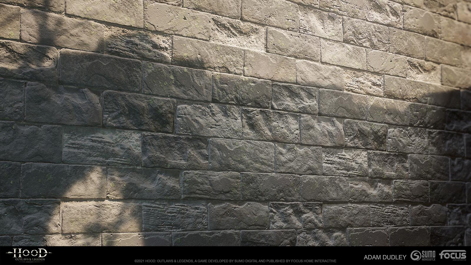 Castle Stone damaged