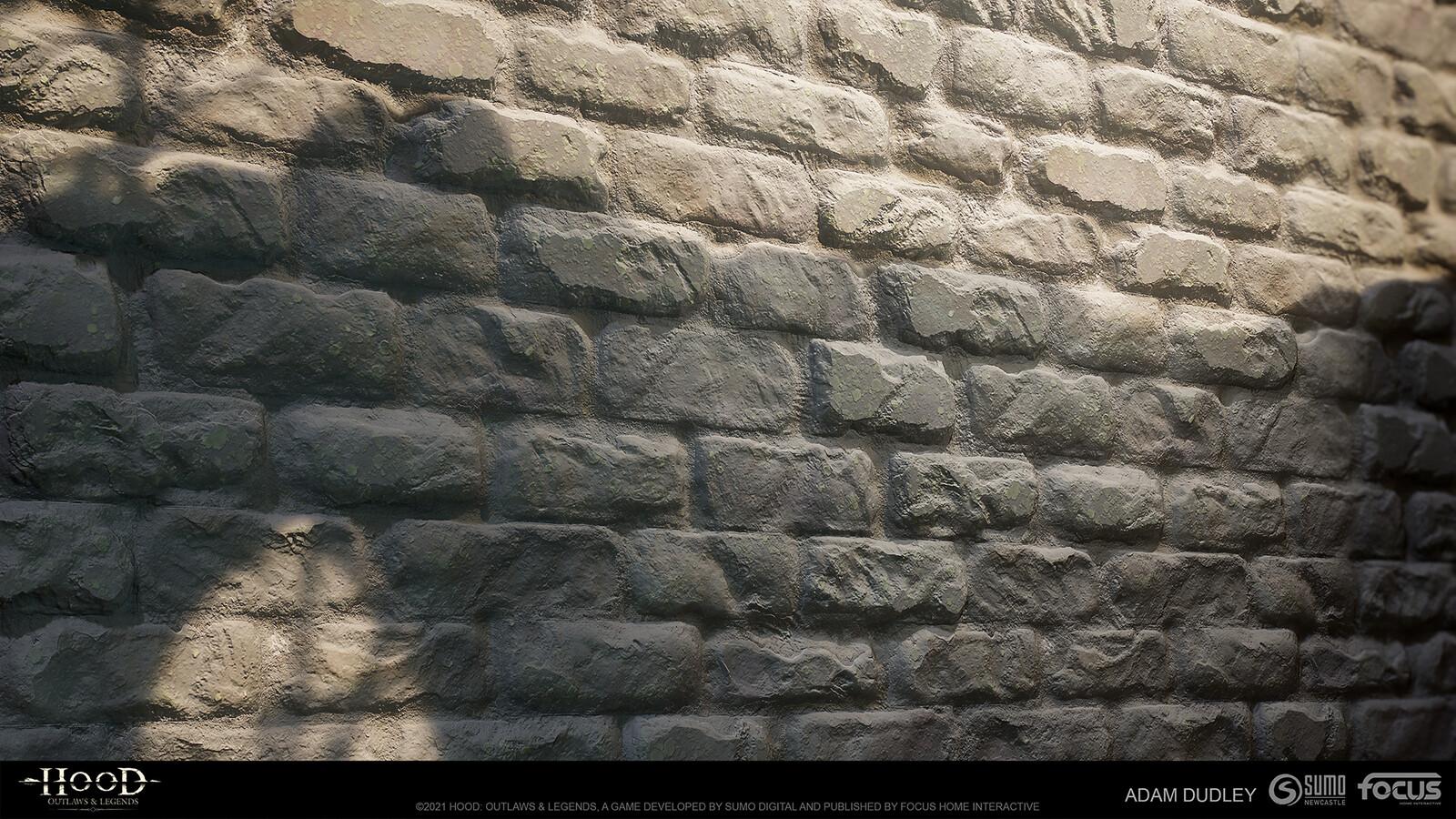 Castle Stone heavy wear