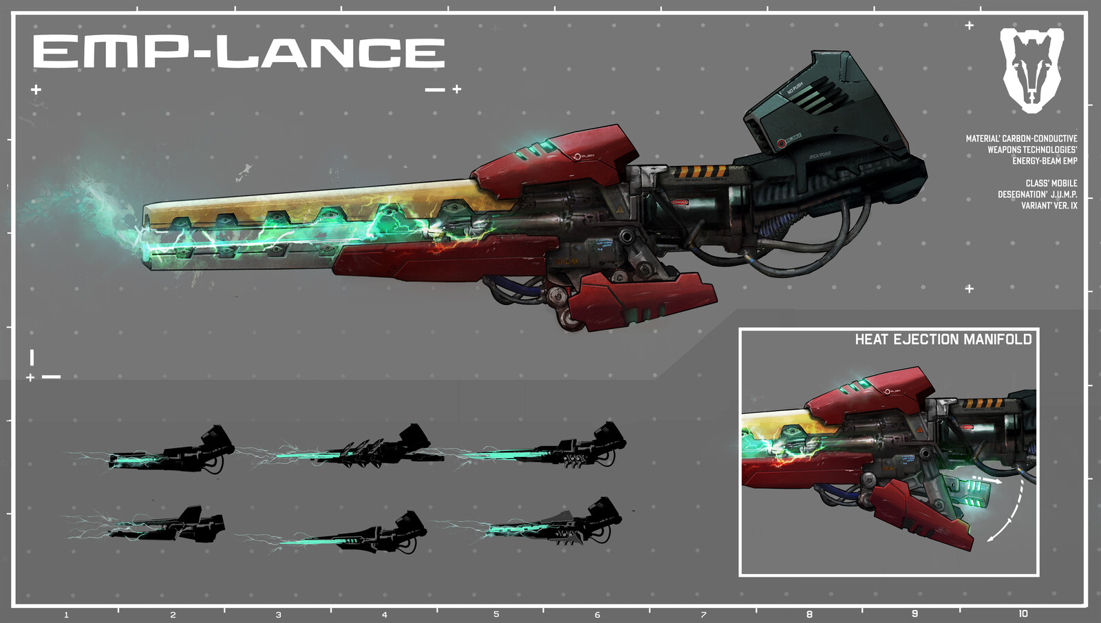MechaChess Weapons
