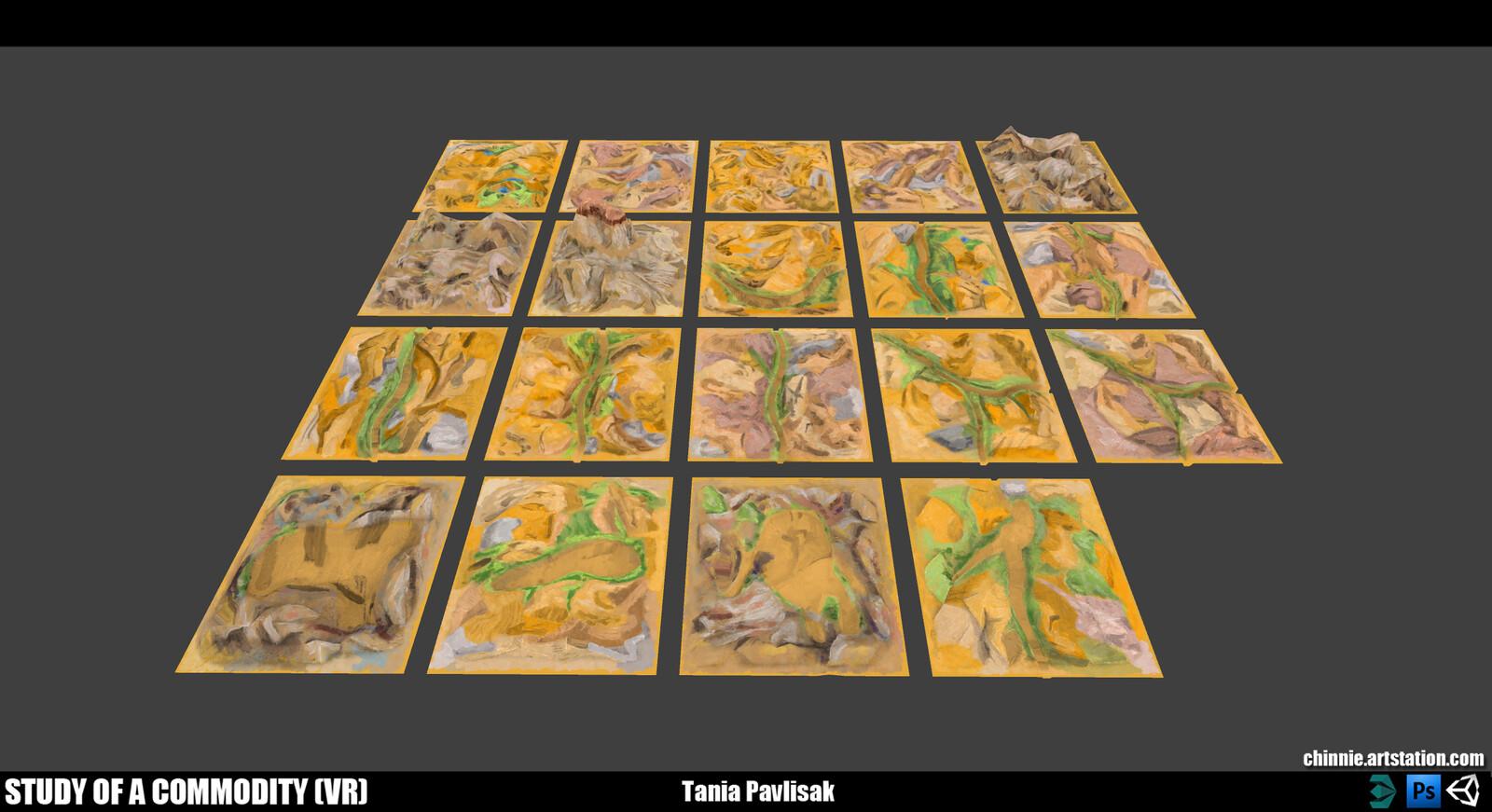 Terrain tiles (No Water)