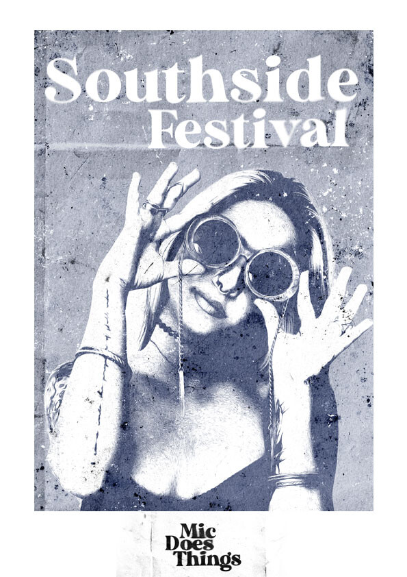Southside Festival - Vintage Poster