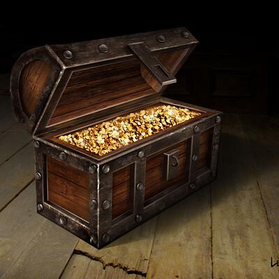 Lee bryan treasure chest 2 lee bryan art 2021