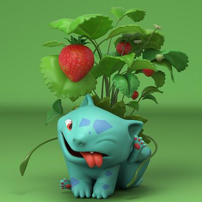 Erica liu strawberry bulbasaur v008 edit