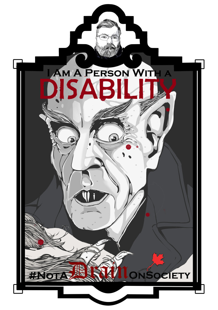 I am a person with a disability #NotADrainOnSociety