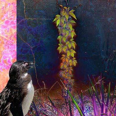 Kimberly darwin bamboo penguin blue v1