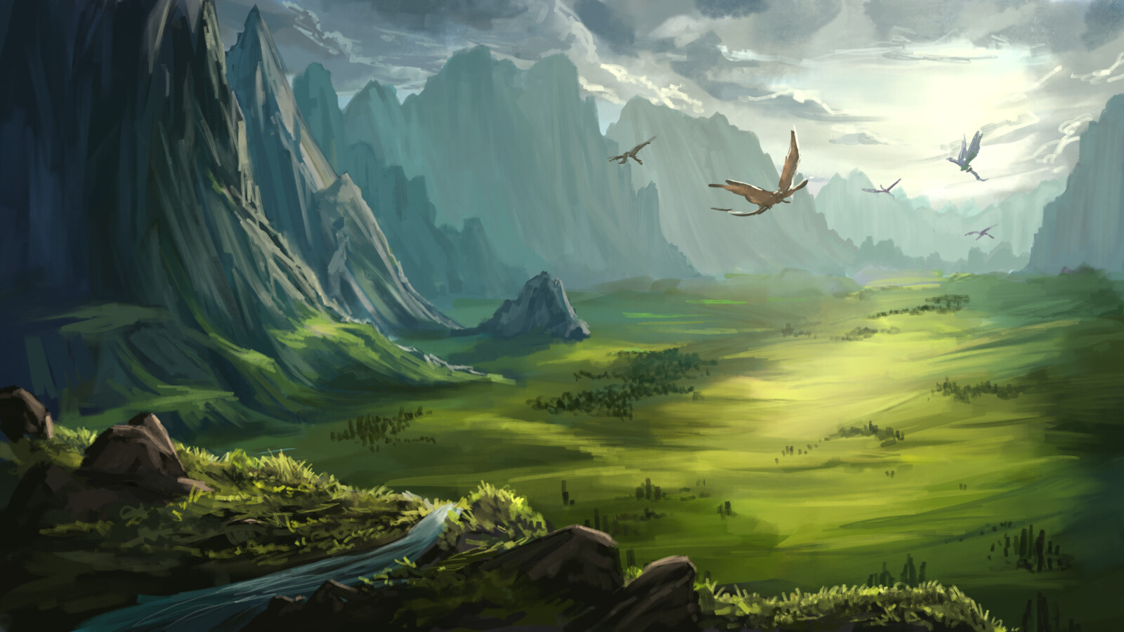 The Waypass Mountains