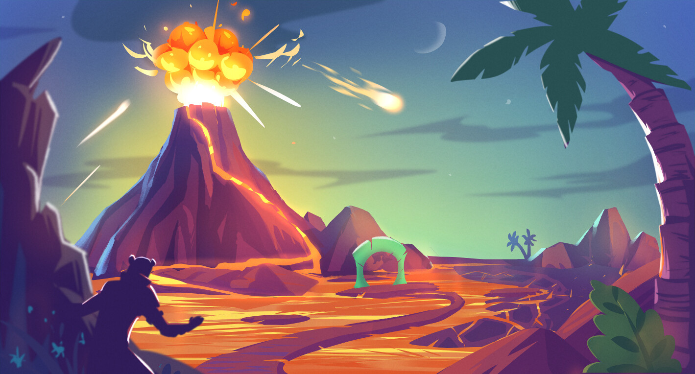 Island Game - Key Art, Props & Sketches
