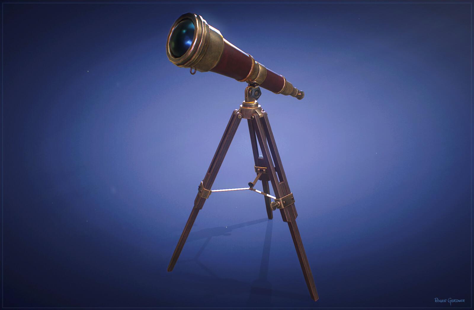 Stylized Telescope