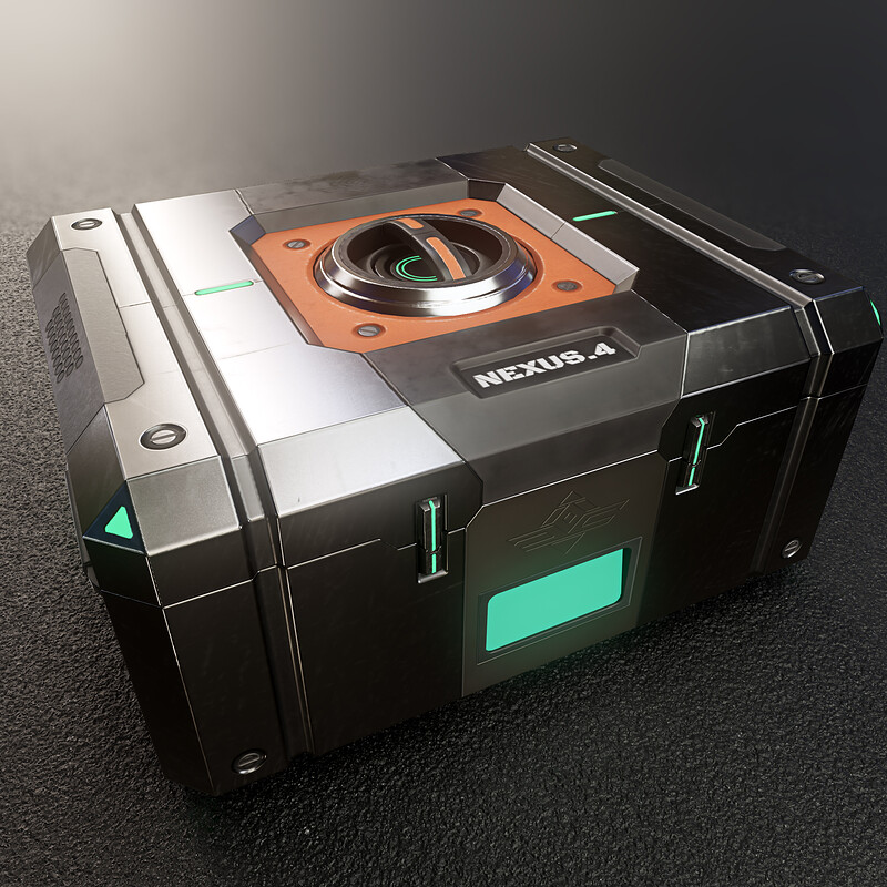 Oceanic - Ammo box