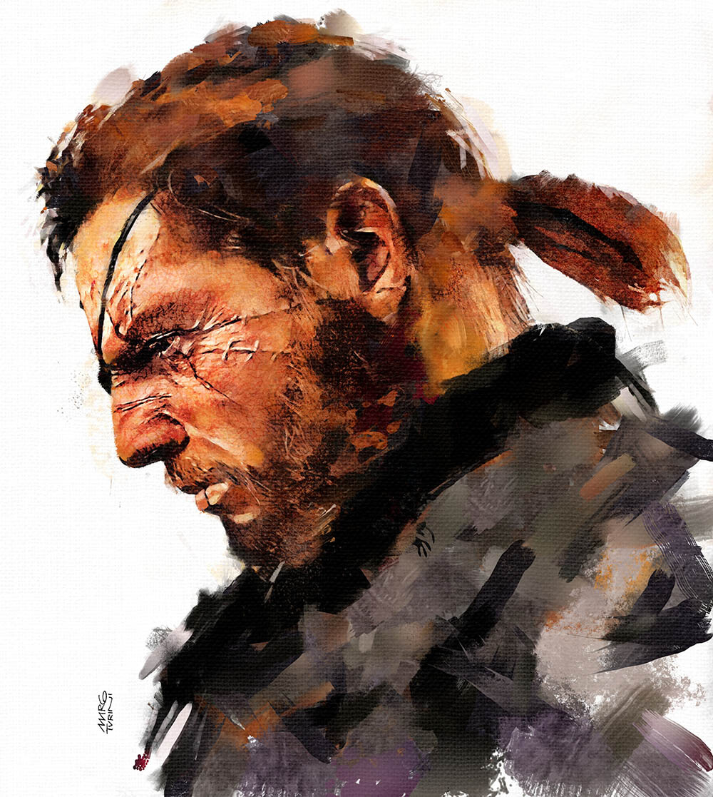 Snake from Metal Gear Solid Tribute