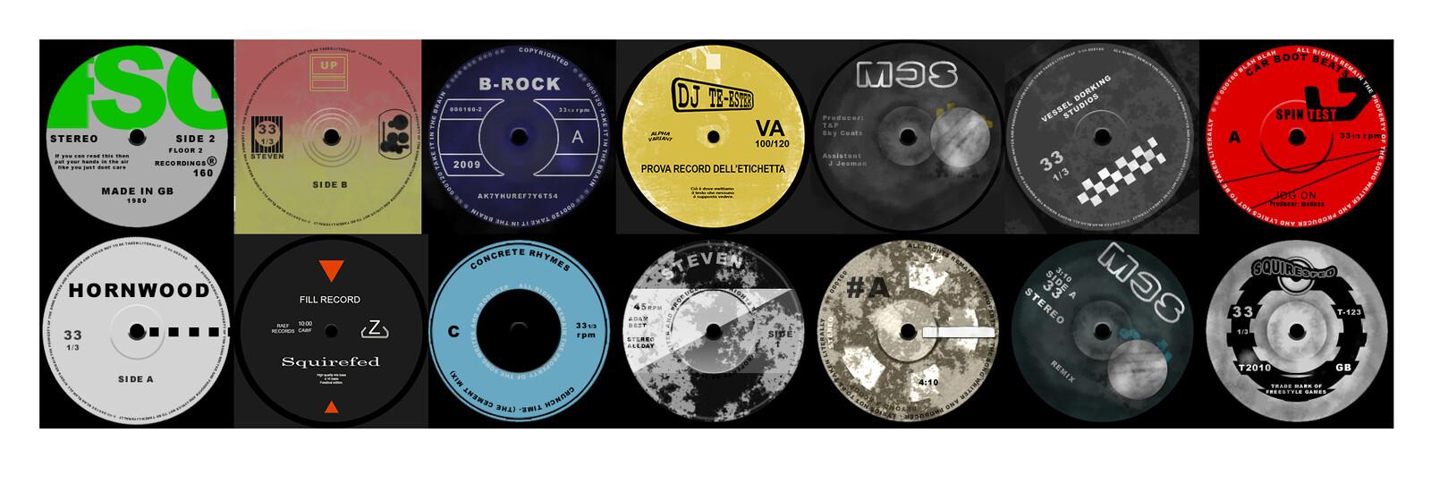 Vinyll sticker designs