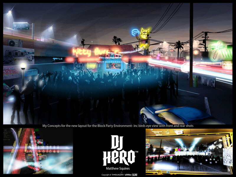 REimagined concept for Block Party