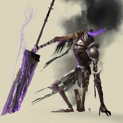 Chaim garcia rising knight sketch