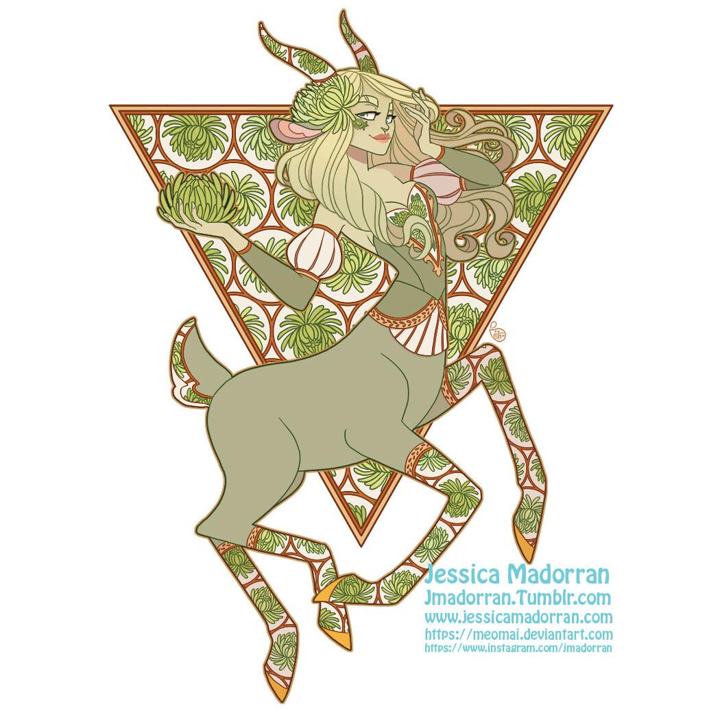 Patreon - August 2021 - Twisted Three Billy Goats Gruff Sticker Option 02