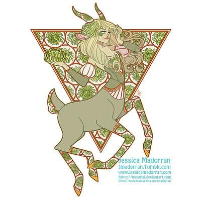 Jessica madorran patreon august 2021 twisted three billy goats gruff sticker option 02 artstation