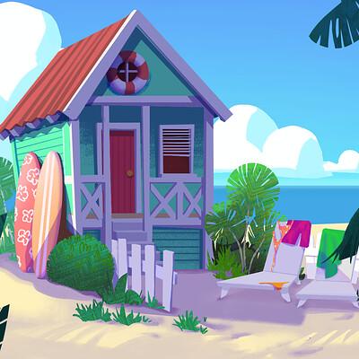 Fraeya pinto beach hut 02