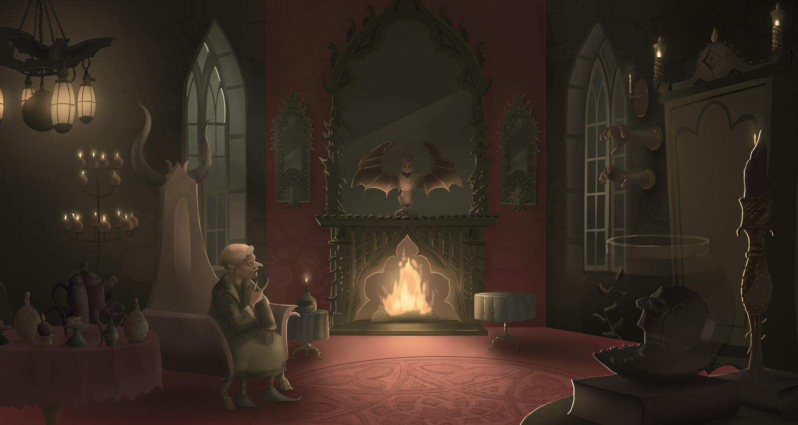 Rumpelstiltskin's living room