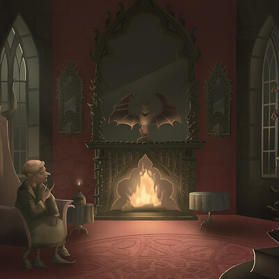 Nienke zijlstra nienkezijlstra rumpelstiltskin interior2