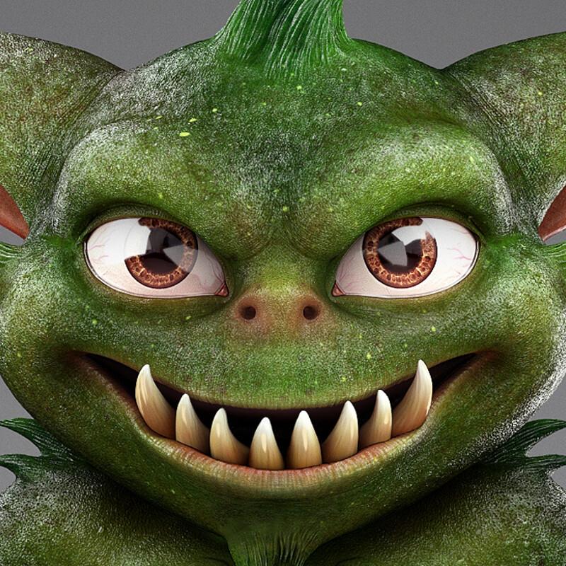 Monster character.