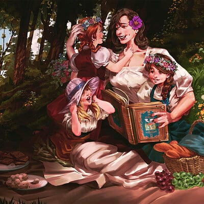 Picnic in the Lord's forest