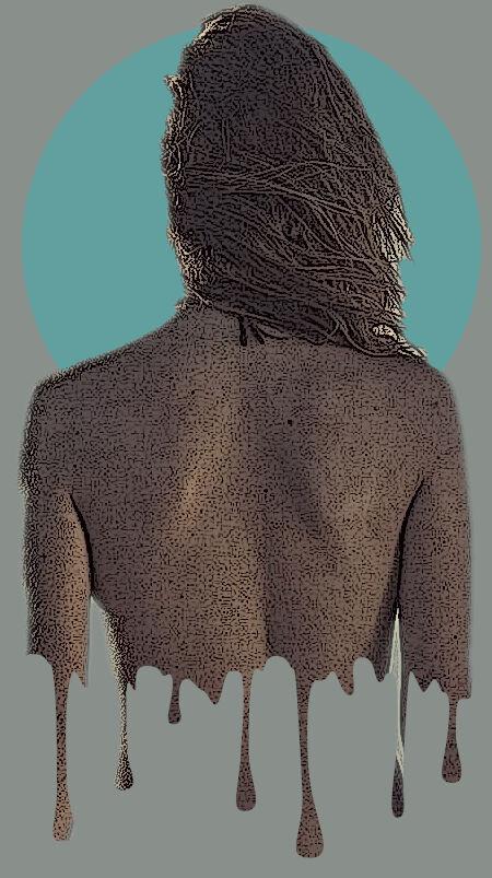 """Tutoral """"Create a Drip Portrait Effect in GIMP"""""""