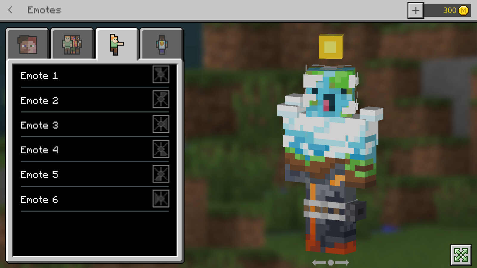 promotional skin for the Minecraft Earth beta made by me