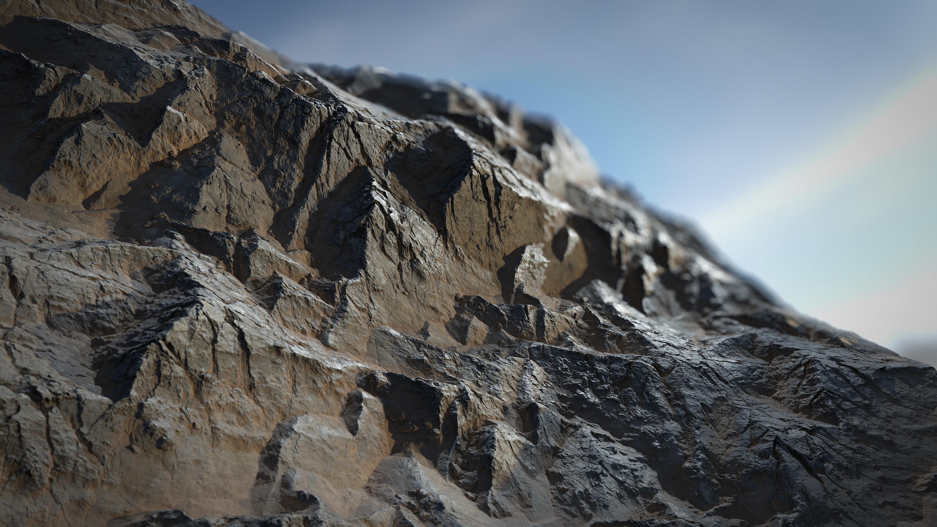 Alternate scene rendered in Marmoset Toolbag 4