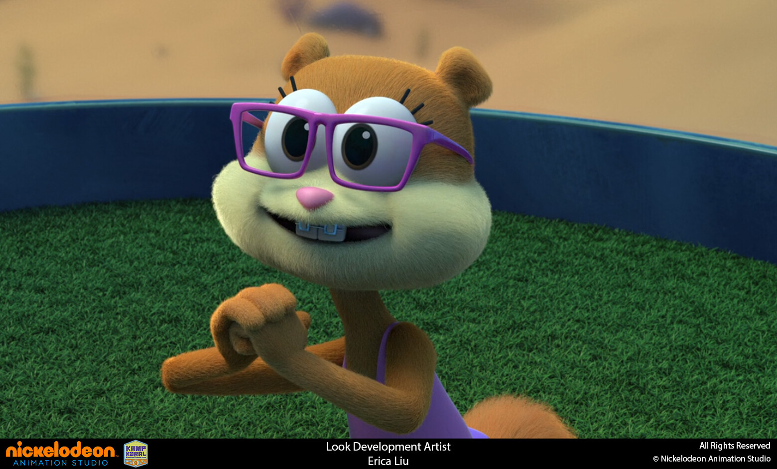 Responsible for bathing suit texture and groom for Sandy Swimsuit variant based off original Sandy's suit groom