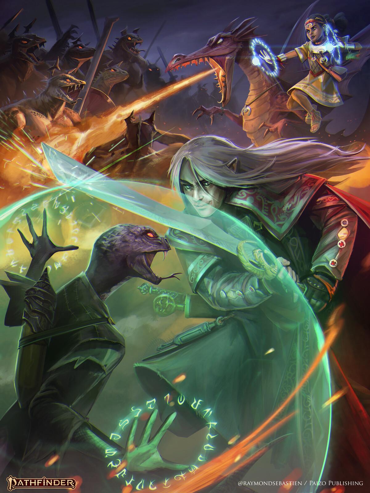 Pathfinder : Secret of magic artwork