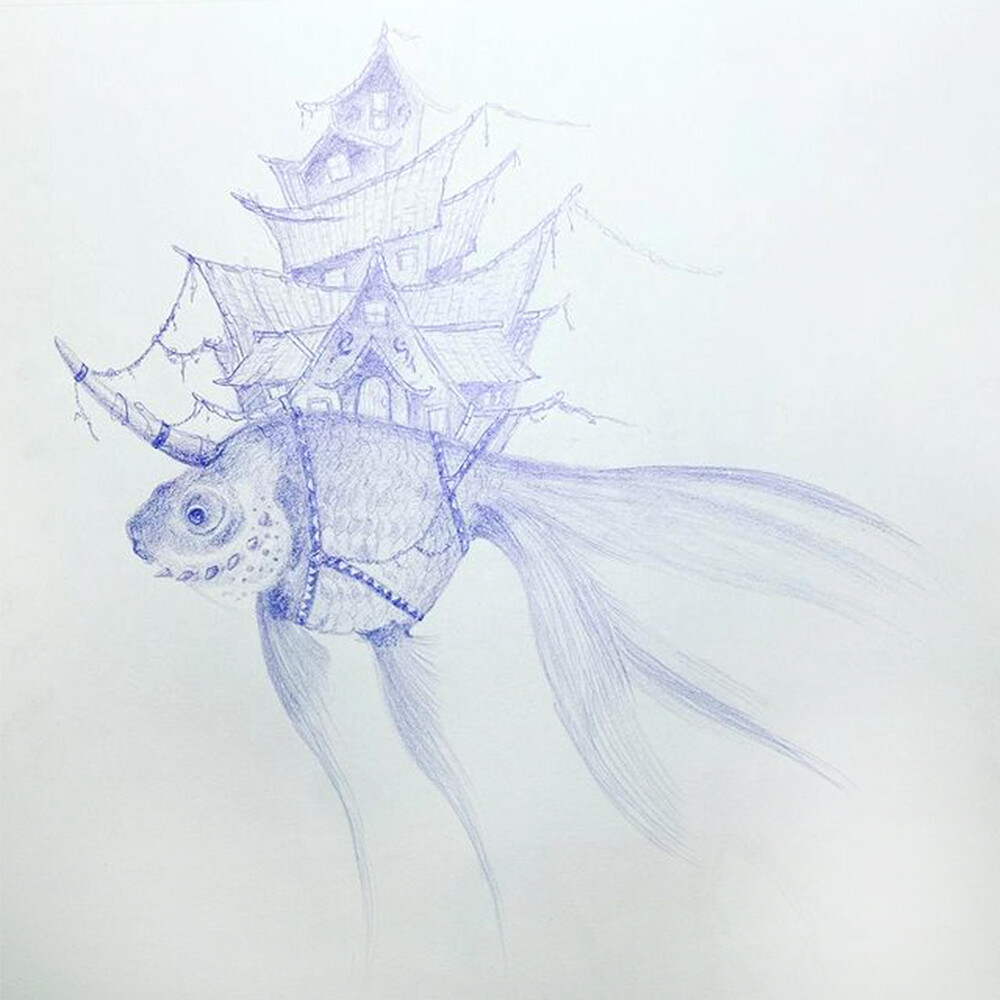 Initial concept drawing