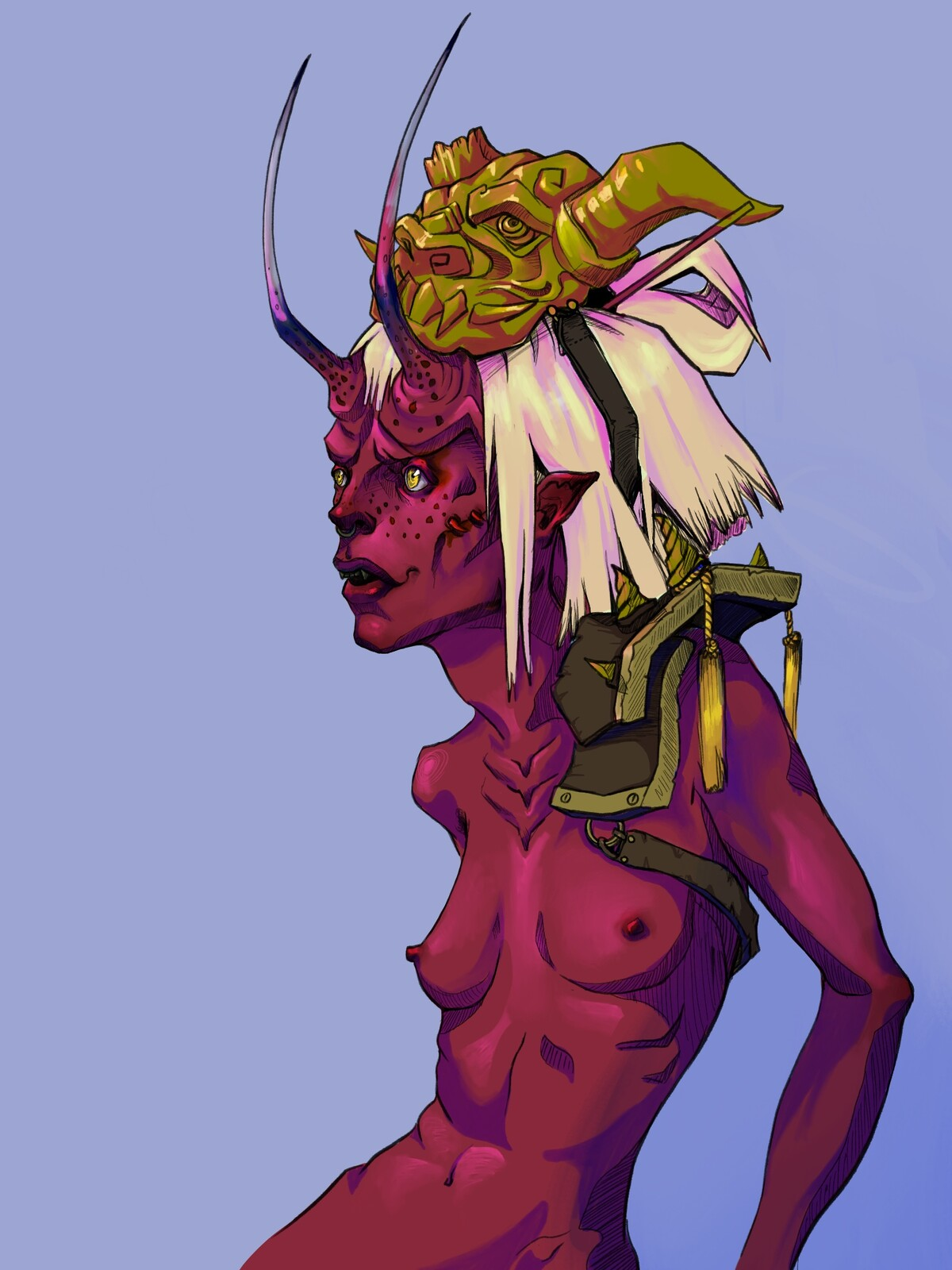 Gold Mask NSFW