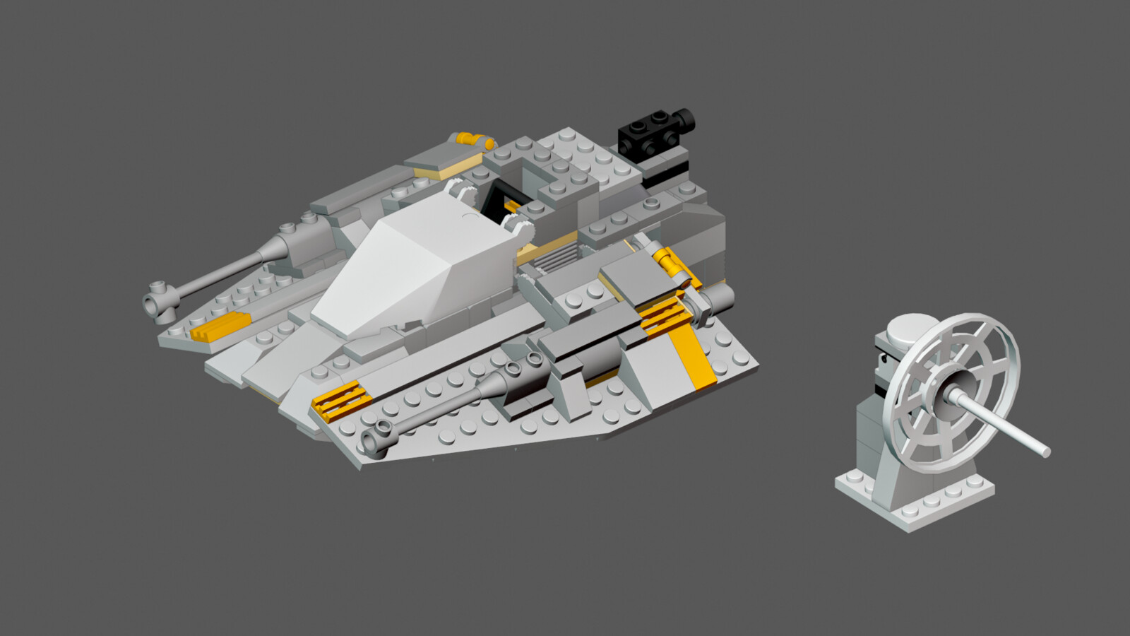 LEGO Snowspeeder Set 7130 (WIP)