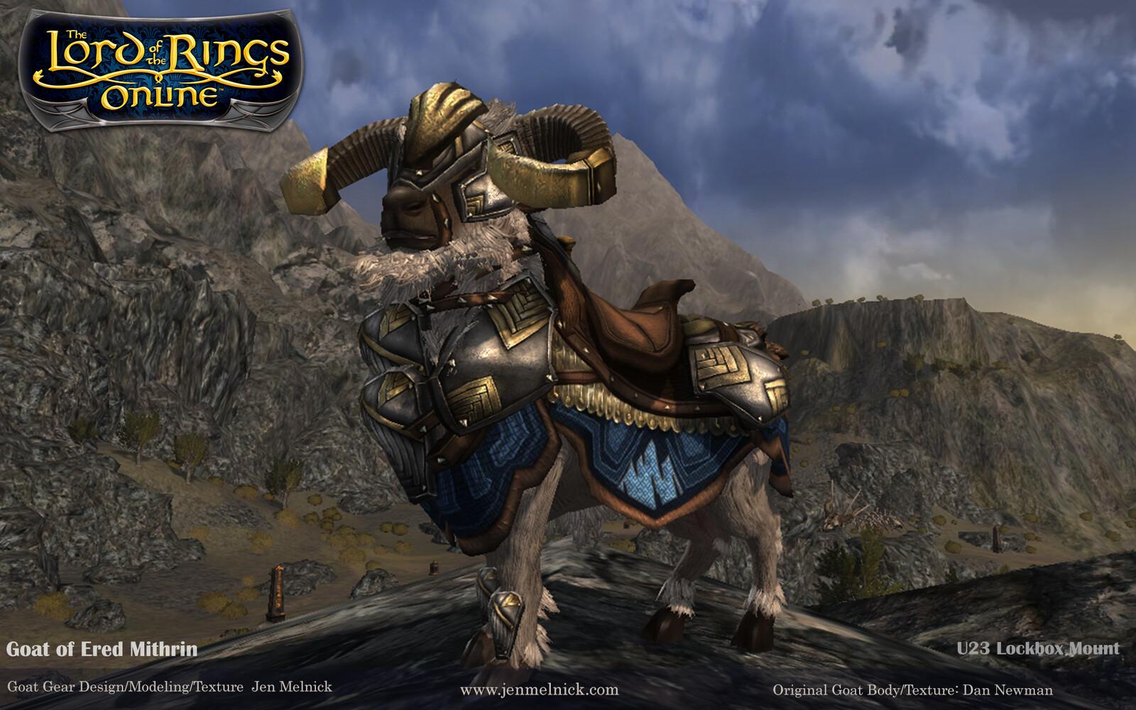 U23 Lockbox Mount Goat of Ered Mithrin In-Game Render