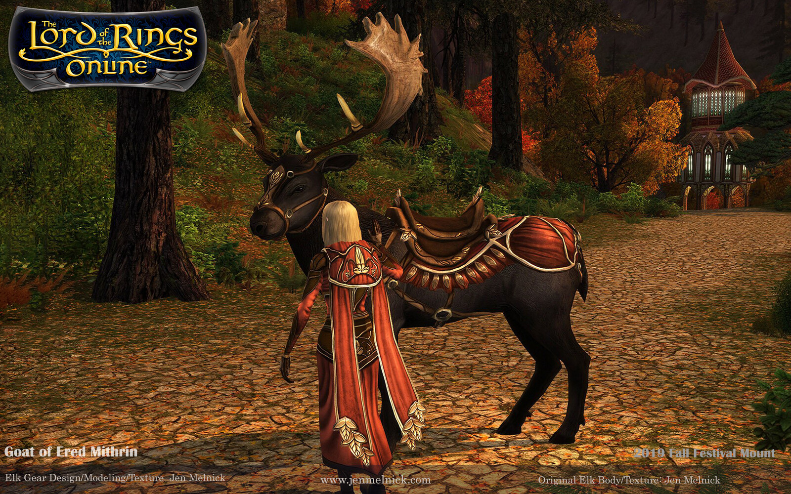 Fall Festival 2019 Mount Steed of the Autumn Traveller In-Game Screenshot