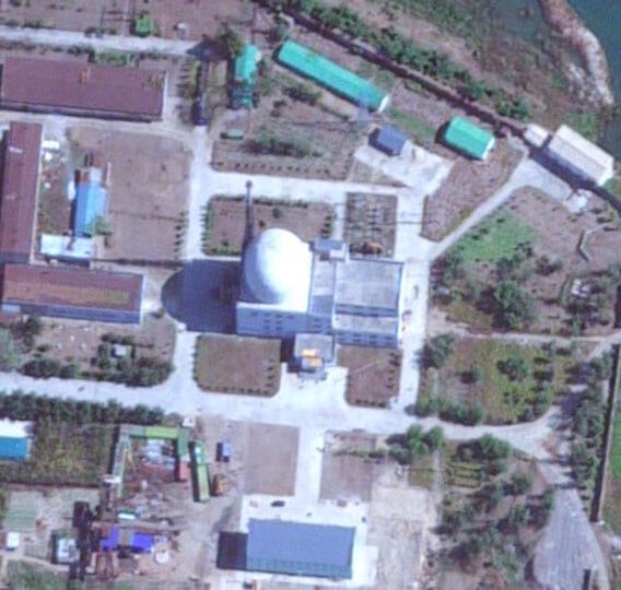Sample 03 Example of source material for project build - DPRK ELWR (Experimental Light Water Reactor)  Yongbyon Nuclear Scientific Research Center: Experimental Light Water Reactor