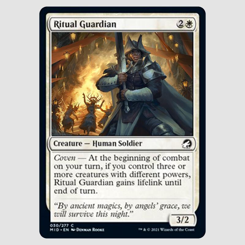 Ritual Guardian card