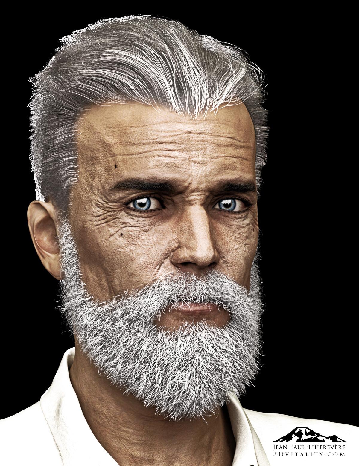 man portrait, 001